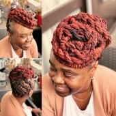 Hairstyle by @locks_passion #womenwithlocs #loctwist #nappy #locqueen #naturalhaircommunity #natural #blackwomen #dreads #dreadgirl #dreadlocks #locs #locks #locsrock #locstyles #voiceofhair #dreadlocs #hairstyle #blackhair #blackisbeautiful #blackiswonderful