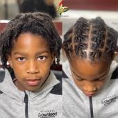 ⓀⒾⒹⓈ ⓌⒾⓉⒽ ⓁⓄⒸⓈ 🥰 #kidswithlocs #loctwist #locs #nappy #naturalhaircommunity #natural #dreads #dreadboy #dreadlocks #locs #locks #locsrock #locstyles #voiceofhair #dreadlocs #hairstyle #blackhair #blackisbeautiful