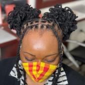 𝙾𝚗𝚎 𝚘𝚏 𝚖𝚢 𝚏𝚊𝚟𝚘𝚞𝚛𝚒𝚝𝚎 𝚑𝚊𝚒𝚛𝚜𝚝𝚢𝚕𝚎 🤩 #womenwithlocs #loctwist #locs #nappy #locqueen #naturalhaircommunity #natural #blackwomen #dreads #dreadgirl #dreadlocks #locs #locks #locsrock #locstyles #voiceofhair #dreadlocs #hairstyle #blackhair #blackisbeautiful #blackiswonderful #locpetals