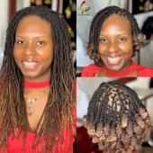 𝙵𝚛𝚘𝚖 𝚕𝚘𝚗𝚐 𝚝𝚘 𝚜𝚑𝚘𝚛𝚝 💁🏽♀️ 👑  . #blackgirlmagic #dreadlocks #dreadlocs #dreads #goddesslocs #healthylocs #loccommunity #locd #locjourney #loclife #loclivin #loclove #locnation #locs #locs4life #locstyle #locstyles #locstylesforwomen #love #naturalhairstyles #shortlocs #teamlocs #womenwithlocs