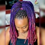 𝕋𝕖𝕒𝕞 𝕨𝕠𝕣𝕜 😍 ℂ𝕠𝕝𝕠𝕣𝕒𝕥𝕚𝕠𝕟 𝕓𝕪 @stephaneghmua  ℝ𝕖𝕡𝕣𝕚𝕤𝕖 𝕖𝕥 𝕔𝕠𝕚𝕗𝕗𝕦𝕣𝕖 𝕓𝕪 @locks_passion #womenwithlocs #loctwist #nappy #locqueen #naturalhaircommunity #natural #blackwomen #locs #locks #locsrock #locstyles #voiceofhair #hairstyle #blackisbeautiful #blackiswonderful #purplelocs #pinklocs