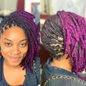 💜 𝕊𝕠𝕟 𝕧𝕚𝕠𝕝𝕖𝕥 𝕝𝕒̀ ! 💜 #womenwithlocs #blackisbeautiful  #blackisgold #blackwomen #locs #nappy #naturalhaircommunity #natural #blackwoman #blackdontcrack #dreads #dreadgirl #dreadlocks #locs #locks #locsrock #locstyles #voiceofhair #dreadlocs #hairstyle #blackhair #blackisbeautiful #blackiswonderful #black #naturalrootsista #instantlocs #ilovemylocs #hair #lochairstyle #hairstyle #purplehair #purplelove #purplelocs